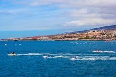 Παραλία Tenerife στο νησί - καναρίνι Στοκ εικόνα με δικαίωμα ελεύθερης χρήσης