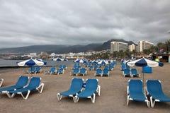 Παραλία Tenerife στο νότο Στοκ Εικόνα