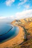 Παραλία Teresitas σε Santa Cruz de Tenerife Στοκ εικόνες με δικαίωμα ελεύθερης χρήσης