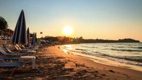 Παραλία Timelapse ηλιοβασιλέματος φιλμ μικρού μήκους