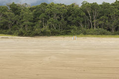 Παραλία Ubatuba, Σάο Πάολο Στοκ φωτογραφίες με δικαίωμα ελεύθερης χρήσης