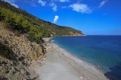 Παραλία Velanio Στοκ Φωτογραφίες