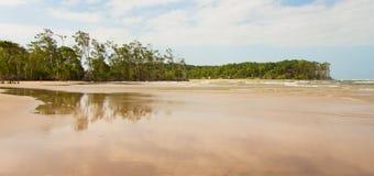 Παραλία Velha Barra Στοκ φωτογραφίες με δικαίωμα ελεύθερης χρήσης