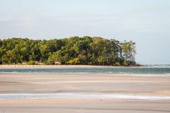 Παραλία Velha Barra Στοκ Εικόνες