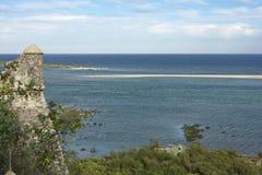 Παραλία Velha Cacela Στοκ Εικόνα