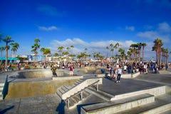 Παραλία Venise, Σάντα Μόνικα, Καλιφόρνια Στοκ Φωτογραφία