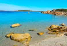 Παραλία Verde Conca μια σαφή ημέρα Στοκ Φωτογραφίες