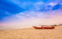 Παραλία Viareggio, Versilia, Τοσκάνη, Ιταλία Στοκ φωτογραφία με δικαίωμα ελεύθερης χρήσης