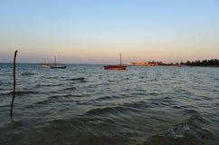 Παραλία Vilanculos, Μοζαμβίκη Στοκ φωτογραφία με δικαίωμα ελεύθερης χρήσης