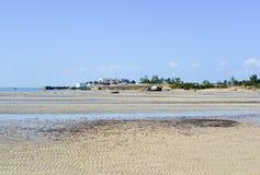 Παραλία Vilanculos, Μοζαμβίκη Στοκ Εικόνες
