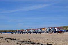 Παραλία Vlissingen στοκ εικόνες