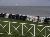 Παραλία Wilhelmshaven Στοκ φωτογραφία με δικαίωμα ελεύθερης χρήσης
