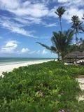 Παραλία Zanzibar Στοκ φωτογραφία με δικαίωμα ελεύθερης χρήσης