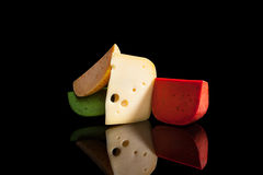Παραλλαγή τυριών στοκ φωτογραφίες