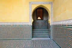 Παραδείγματα της μαροκινής αρχιτεκτονικής Στοκ Εικόνα
