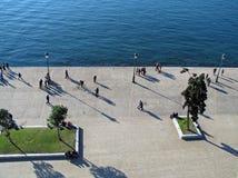 παραλιακός δρόμος Στοκ φωτογραφία με δικαίωμα ελεύθερης χρήσης