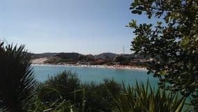 παραλιών λεπτό λευκό ύδατος άμμου τυρκουάζ Στοκ εικόνες με δικαίωμα ελεύθερης χρήσης