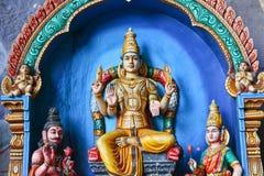 Παραδοσιακά αγάλματα του ινδού Θεού Στοκ Εικόνα