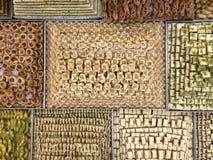 Παραδοσιακά αραβικά γλυκά Στοκ εικόνες με δικαίωμα ελεύθερης χρήσης