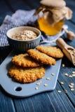 Παραδοσιακά αυστραλιανά μπισκότα Anzac Στοκ φωτογραφία με δικαίωμα ελεύθερης χρήσης