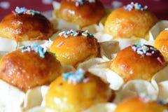 Παραδοσιακά γλυκά Πάσχας Στοκ Εικόνες