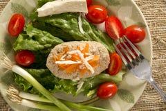 Παραδοσιακά εβραϊκά ψάρια Gefilte πιάτων Passover Στοκ Εικόνα