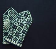 Παραδοσιακά λετονικά γάντια στοκ εικόνα με δικαίωμα ελεύθερης χρήσης