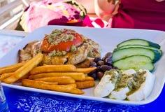 Παραδοσιακά ελληνικά τρόφιμα στοκ φωτογραφία με δικαίωμα ελεύθερης χρήσης