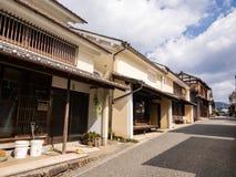 Παραδοσιακά ιαπωνικά σπίτια Στοκ Εικόνες