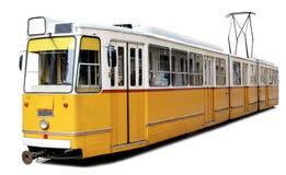 Πορτοκαλί τραμ Στοκ Εικόνα