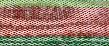 Παραδοσιακά κεραμίδια Στοκ φωτογραφία με δικαίωμα ελεύθερης χρήσης