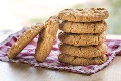 Παραδοσιακά μπισκότα Anzac Στοκ Φωτογραφίες