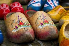 Παραδοσιακά ολλανδικά Clogs Στοκ Φωτογραφίες