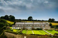 Παραδοσιακά πέτρινα εξοχικά σπίτια στοκ εικόνες