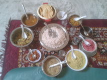 Παραδοσιακά προϊόντα του Κεράλα Στοκ Εικόνα