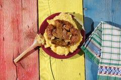Παραδοσιακά ρουμανικά τρόφιμα, sarmale Στοκ φωτογραφίες με δικαίωμα ελεύθερης χρήσης