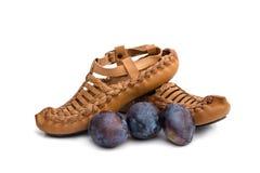 Παραδοσιακά σερβικά παπούτσια στοκ φωτογραφίες με δικαίωμα ελεύθερης χρήσης