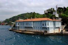 Παραδοσιακά σπίτια προκυμαιών στο Bosphorus Στοκ φωτογραφίες με δικαίωμα ελεύθερης χρήσης