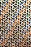 Παραδοσιακά σχέδια ενός ανδαλουσιακού Azulejo Στοκ εικόνες με δικαίωμα ελεύθερης χρήσης