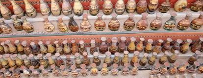 Παραδοσιακά τοπικά αναμνηστικά στην Ιορδανία Στοκ Φωτογραφίες