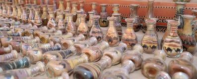 Παραδοσιακά τοπικά αναμνηστικά στην Ιορδανία Στοκ Εικόνες