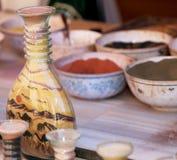 Παραδοσιακά τοπικά αναμνηστικά στην Ιορδανία Στοκ φωτογραφίες με δικαίωμα ελεύθερης χρήσης