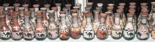 Παραδοσιακά τοπικά αναμνηστικά στην Ιορδανία Στοκ Εικόνα