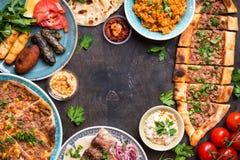 Παραδοσιακά τουρκικά πιάτα Στοκ φωτογραφίες με δικαίωμα ελεύθερης χρήσης