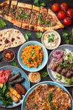 Παραδοσιακά τουρκικά πιάτα Στοκ φωτογραφία με δικαίωμα ελεύθερης χρήσης
