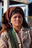 Παραδοσιακές γυναίκες από το Μιανμάρ Στοκ εικόνα με δικαίωμα ελεύθερης χρήσης
