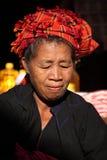 Παραδοσιακές γυναίκες της Shan από το Μιανμάρ Στοκ φωτογραφίες με δικαίωμα ελεύθερης χρήσης