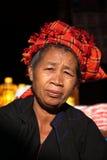 Παραδοσιακές γυναίκες της Shan από το Μιανμάρ Στοκ Φωτογραφίες