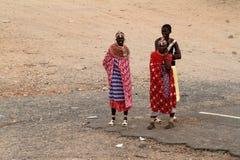 Παραδοσιακές γυναίκες Samburu στην Κένυα Στοκ φωτογραφία με δικαίωμα ελεύθερης χρήσης