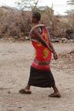Παραδοσιακές γυναίκες Samburu στην Κένυα Στοκ Εικόνα